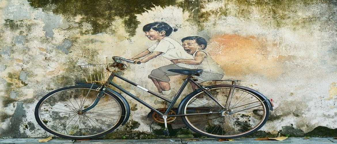A Bicycle Tale From Childhood